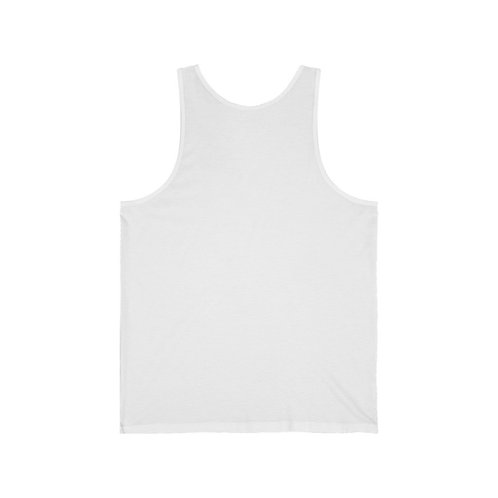 "Africa ""RICH"" Jersey Tank (White)"
