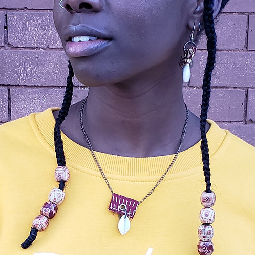 Rorun Owo (Simple Money) Necklace