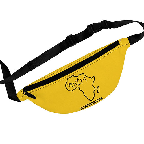 "Africa ""RI¢H"" Fanny Pack (Sunshine)"