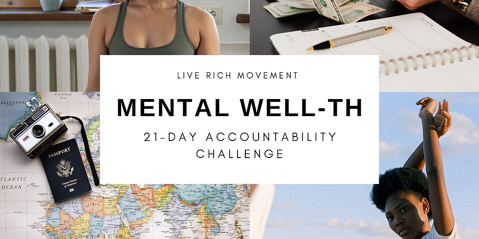 Mental WELLth: Mid-Challenge Check-In