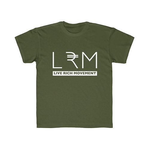 """LRM"" KIDS Regular Fit Tee"