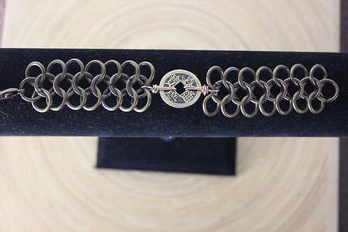 Coined Bracelet