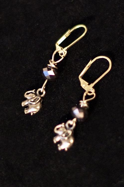 """""""Elephant Charm"""" Earring"""