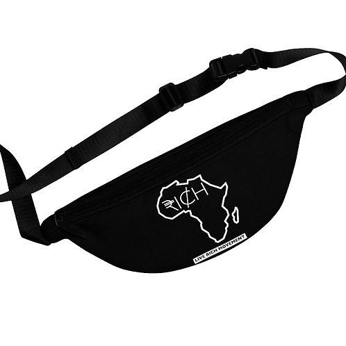"""Africa """"RI¢H"""" Fanny Pack (Black)"""
