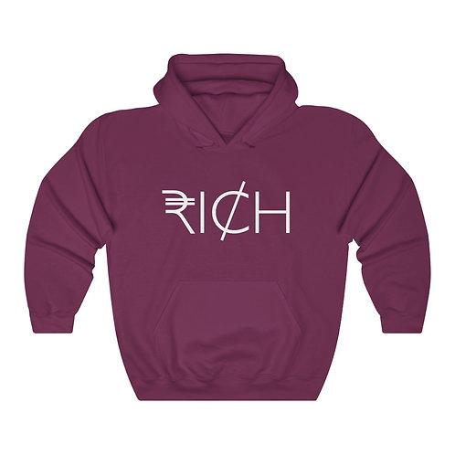 """RI¢H"" UNISEX Hooded Sweatshirt"