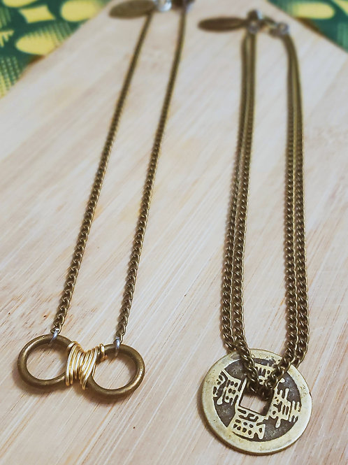 "Kids ""Single Coin"" Necklace"