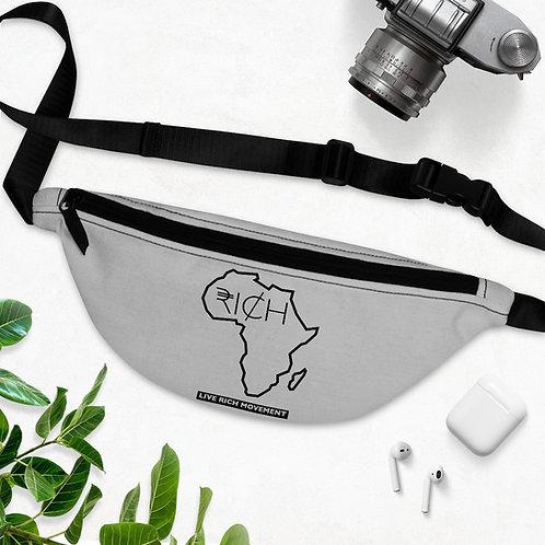 """Africa """"RI¢H"""" Fanny Pack (Grey)"""