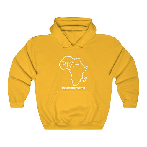 "Africa ""RI¢H"" Hooded Sweatshirt"