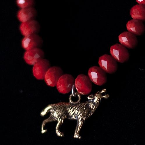 Coyote Charm Bracelet