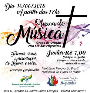 Convite Especial do Grupo de Oração Nossa Senhora dos Migrantes!