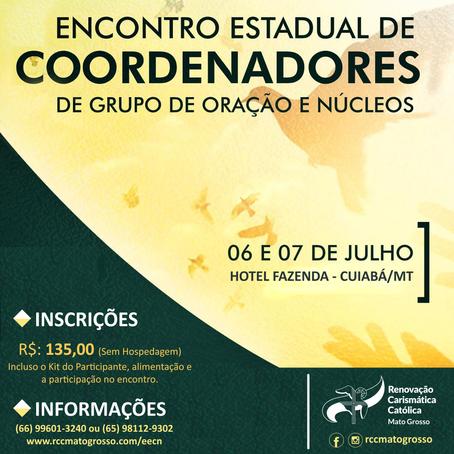 RCC MT se prepara para o Encontro Estadual de Coordenadores de Grupo de Oração e Núcleos