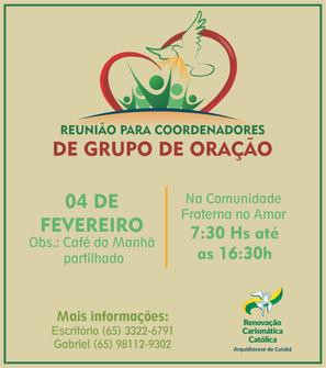 REUNIÃO DE COORDENADORES