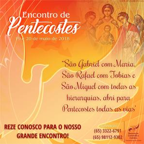 Oremos juntos para Pentecostes 2018