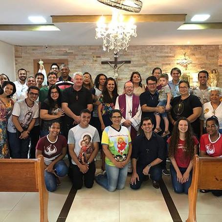O Conselho Estadual da RCC Mato Grosso se reúne para Oração e Planejamento