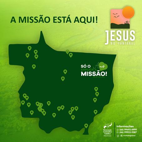 Jesus no Pantanal 2020 - A MISSÃO ESTÁ AQUI!