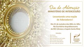 Ministério de Intercessão realiza Dia de Adoração