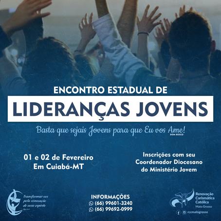 ENCONTRO ESTADUAL DE LIDERANÇAS JOVENS