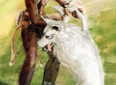 Daily Game Art - A Hero and his Wolf