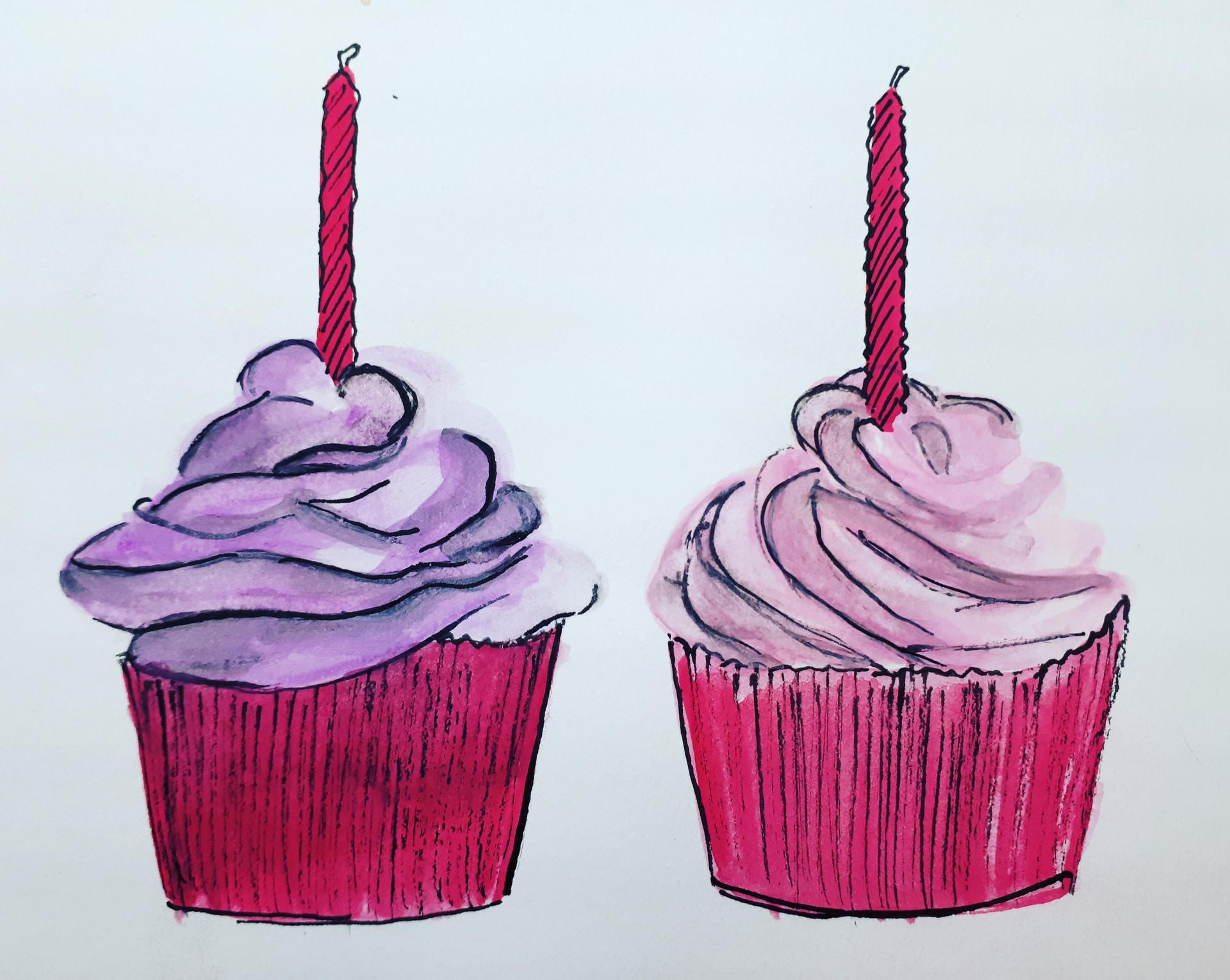 'Cupcakes', 2017.