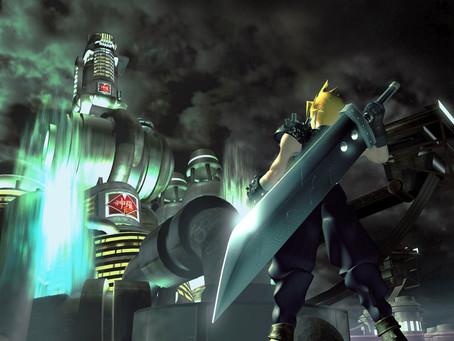 FF7 CGI Artwork Battle
