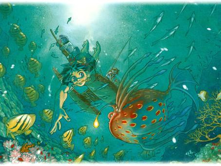 Daily Game Art - Serge Diving For Treasure