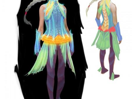 Daily Game Art - Ellen (Cloak of the Deep)