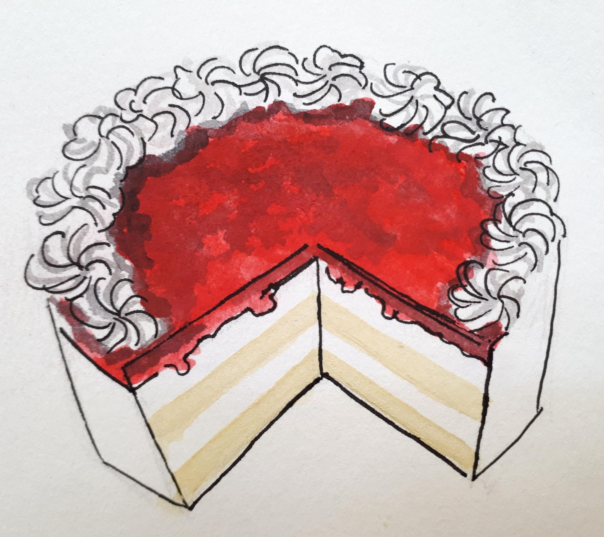 'A Cake', 2017.