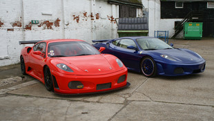 Ferrari 4430 GTM and 430 F1 October 2008