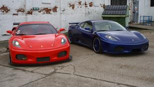Ferrari F430 GTM and 430 LP.jpg