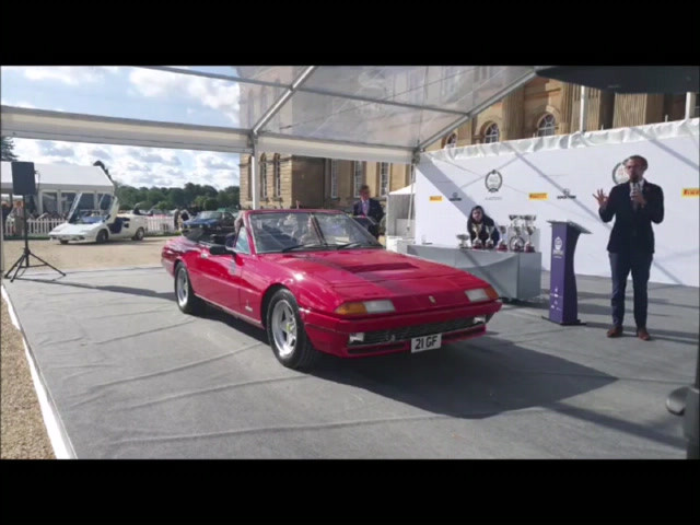 Watch the EVO2 Ferrari at the Salon Prive Masters Concours 2020