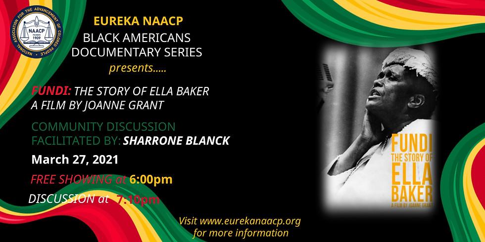 Fundi: The Story of Ella Baker   A Film by Joanne Grant