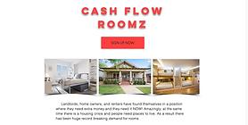 CashFlow Roomz Landing Page - CashFlowRo
