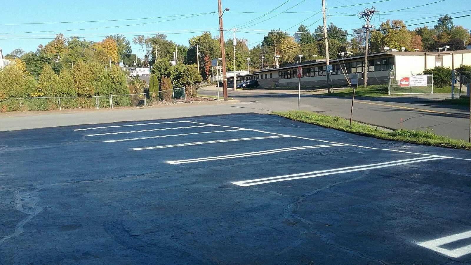 New Parking Lot plus Lines