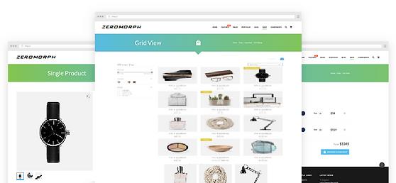 ZEROMORPH: Start a online store