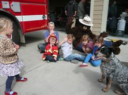 Smokey and the kids