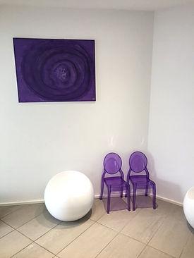 Salle d'attente CABINET ELODIE MARIN