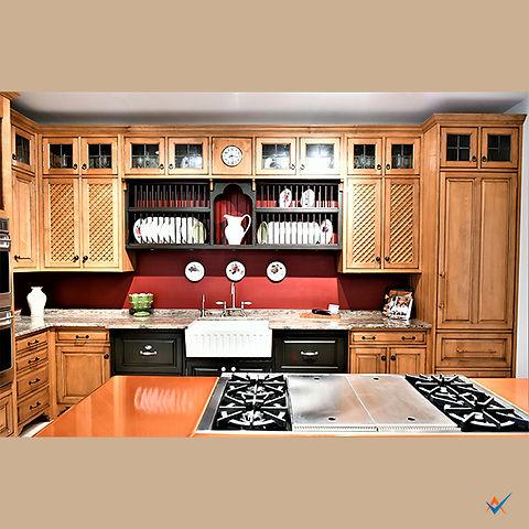 Custom Cabinet Builder Display