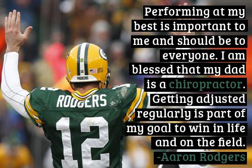 Aaron Rodgers Chiropractic