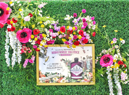 HENDRICK'S GIN Floral Pop UP | Grand Central