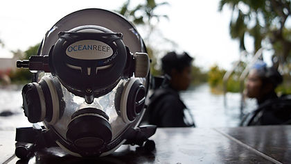Try and Experience Full Face Mask Scuba Diving