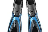 Tusa HyFlex Switch High Performance Easy Traveling Scuba Fins