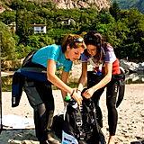 Scuba Students Preparing Diving Equipment