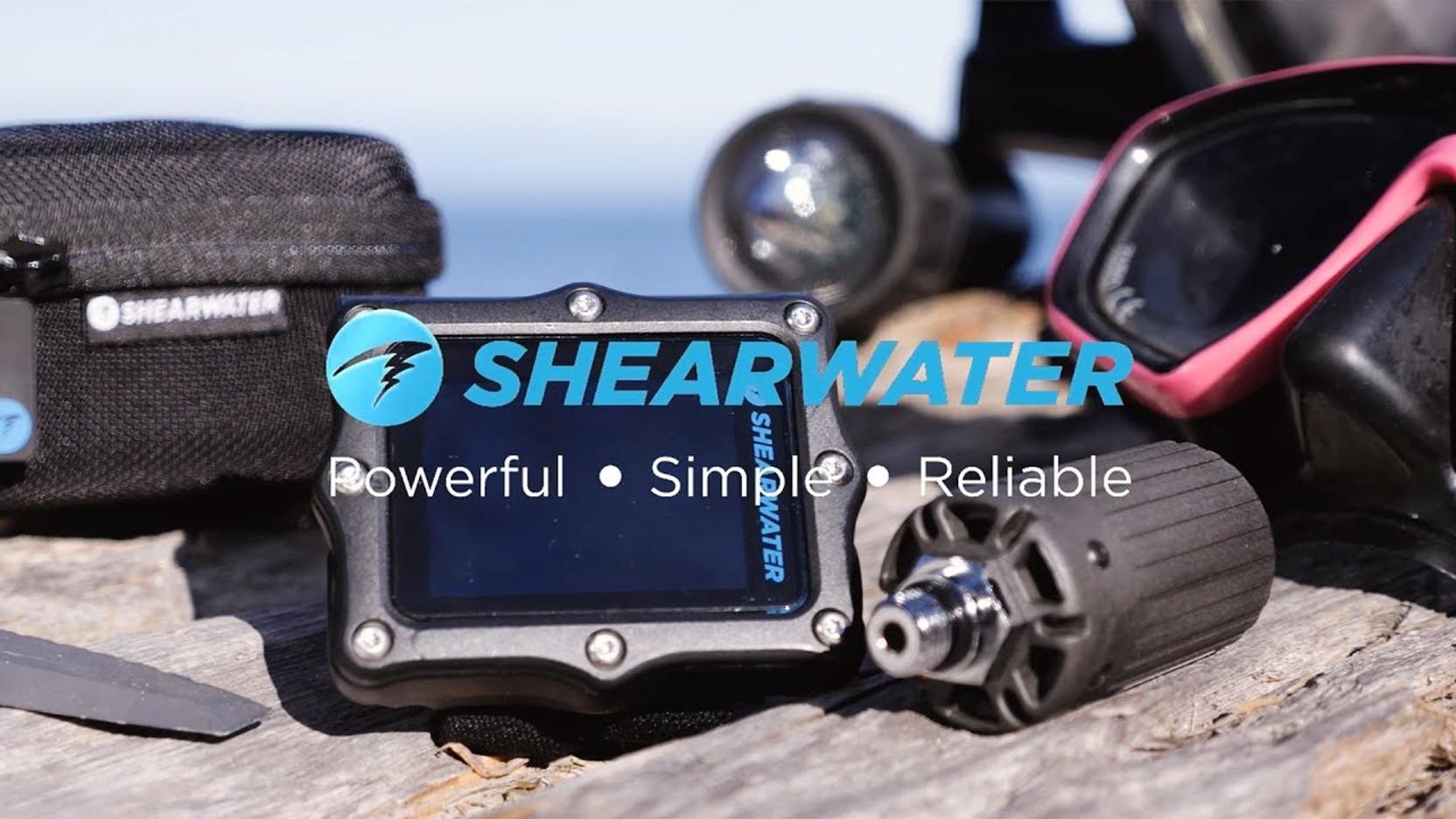 Shearwater Perdix AI - Recreational and Technical Scuba Diving Computer Video