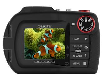 Sealife DC2000 Underwater Camera - Rear Housing