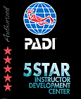 Authorized PADI 5-Star Instructor Development Center