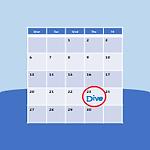 Upcoming Scuba Events Button: Scuba dive event calendar.