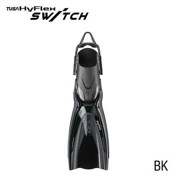 Tusa HyFlex Switch Fins - Black