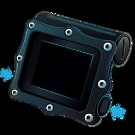 Shearwater Perdix AI Dive Computer- Two Button Interface