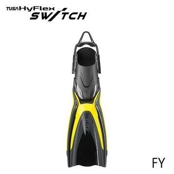 Tusa HyFlex Switch Fins - Flash Yellow