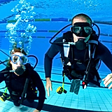 Scuba Students Diving in Swimming Pool